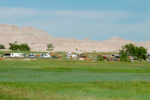 Badlands Ceder Pass Campground